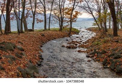 Lake Toya scenery