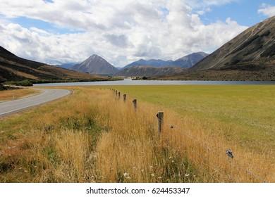 Lake view New Zealand