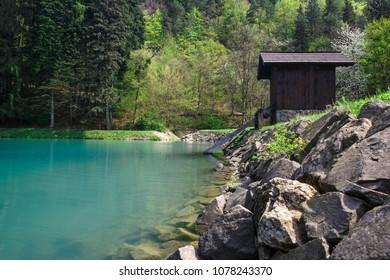 lake Vodarenska in Banska Stiavnica - Slovakia