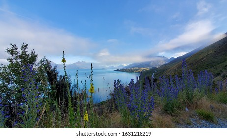 Lake Wakatipu Queenstown view on the way to Glenorchy