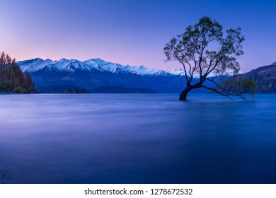 Lake Wanaka in NewZealand