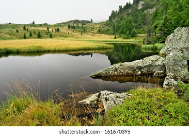 Lake Windeben in Nockbergs, Austria