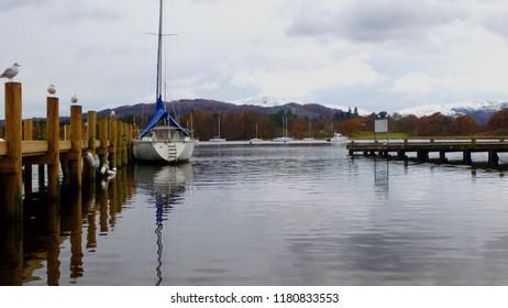 Lake Windermere, Cumbria in Autumn