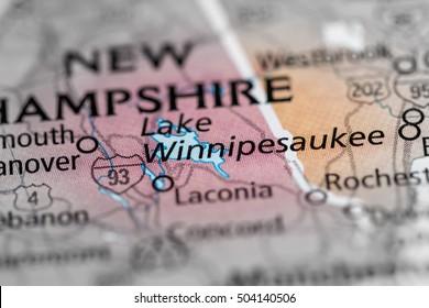 Lake Winnipesaukee. New Hampshire. USA