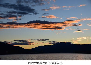 Lake Woerthersee in Carinthia - Austria