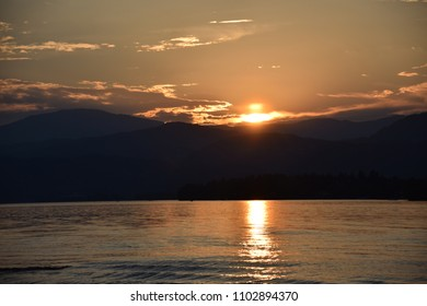 Lake Woerthersee - Sunset