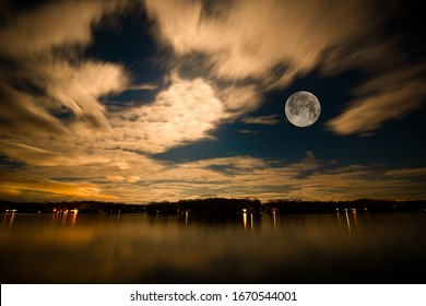 Lake of the Woods Moon