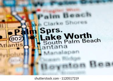 Lake Worth Florida Map.Royalty Free Lake Worth Florida Stock Images Photos Vectors