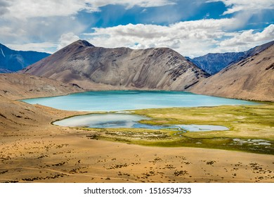 Lake Yaye Tso in Ladakh region of India