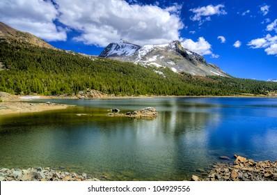 Lake in Yosemite National Park