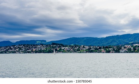Lake of Zurich panorama, Switzerland