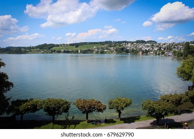 Lake Zurich, Rapperswil, Switzerland