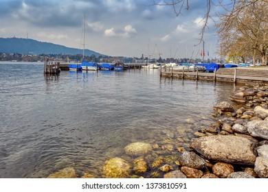 Lake Zurich in spring