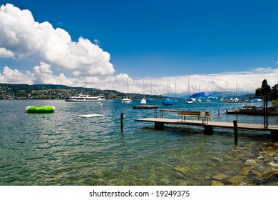 Lake Zurich in Switzerland