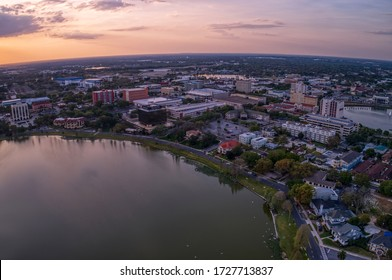 Lakeland is a small town in the interior region of florida