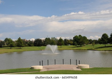 Lakes and Fountain