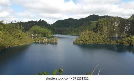 """Lakes and Lagoons""  Lagunas de Montebello, Chiapas. Mexico"