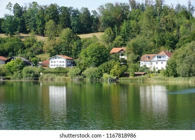 lakeside houses in bavaria