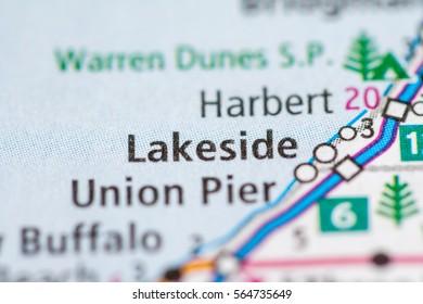 Lakeside Michigan Map.Lakeside Map Images Stock Photos Vectors Shutterstock
