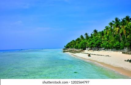 Lakshadweep seascape beauty blue sky