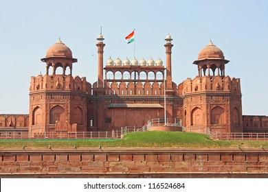 Red Fort Delhi Images Stock Photos Amp Vectors Shutterstock