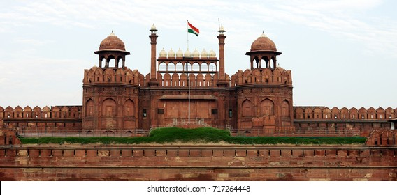 Lal Qila (Red Fort) in Delhi.