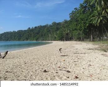 Lalaji Bay Beach in Long Island Andaman