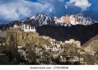 Lamayuru monastery , A beautiful temple locate near himalayan mountain