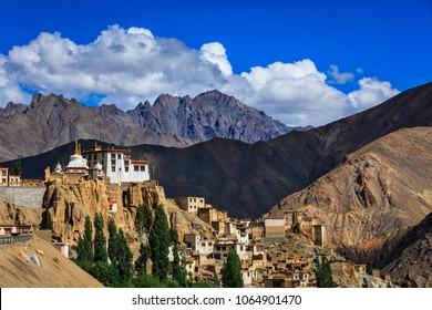Lamayuru or Yuru Gompa is Tibetan Buddhist Gompa (monastery) in Kargil District, Western Ladakh, Jammu and Kashmir, India