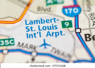 Lambert - St. Louis International Airport. Missouri. USA