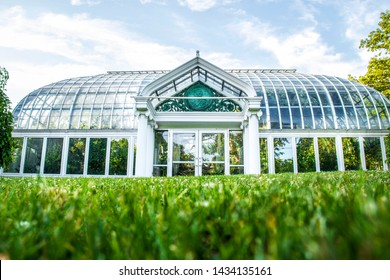 Lamberton Conservatory greenhouse in Highland Park Rochester New York