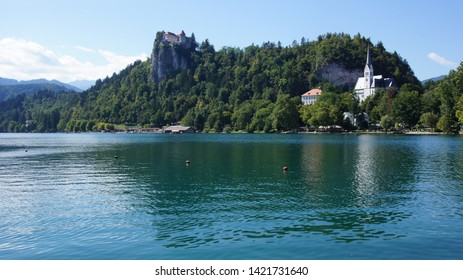 The lamdscape of Bled lake -part1-