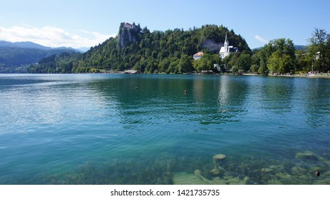 The lamdscape of Bled lake -part2-