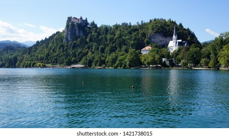 The lamdscape of Bled lake -part3-