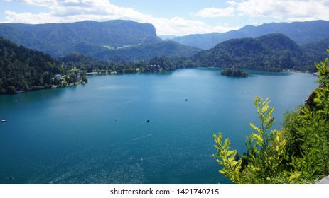 The lamdscape of Bled lake -part4-