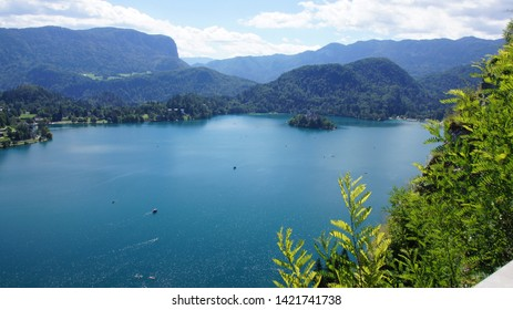 The lamdscape of Bled lake -part5-