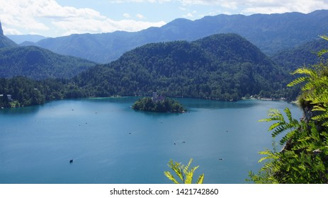 The lamdscape of Bled lake -part6-