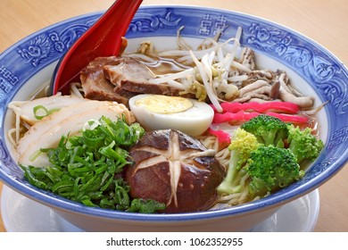 Lamen on the bowl (japanese food)