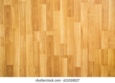 Laminate wooden floor surface in the modern home background.