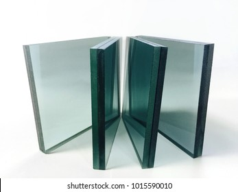 The laminated glass