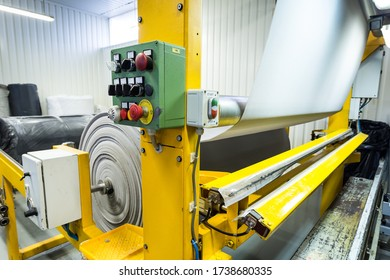 Laminating machine for technical textiles and foams