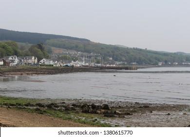 Lamlash Bay, located on the Isle of Arran - Scotland