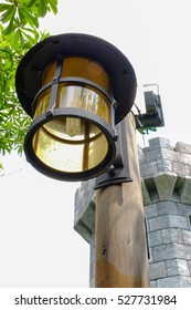 The lamp beside the castle