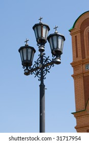 lamp in the Church on the territory of the monastery achairskogo