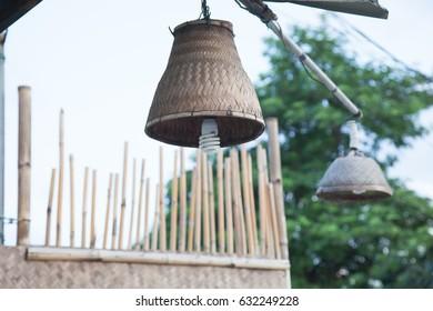 lamp in earthen steamer