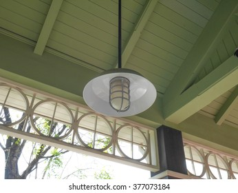 Lamp Hanging on the roof