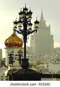 lamp, high-building, church