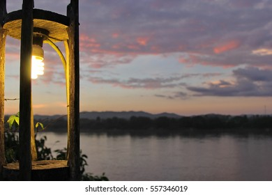 lamp and landscape