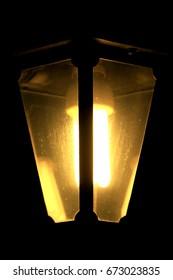 Lamp light lampara jardin luz negro oscuridad amarillo yellow house casa sociedad cotidiano jardín noche night