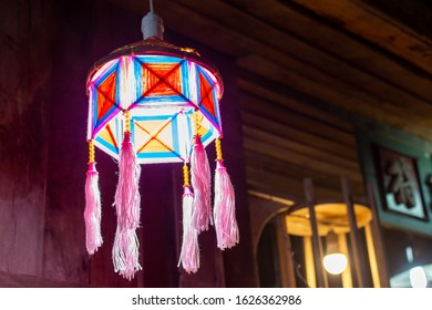 Lamp made of yarn image